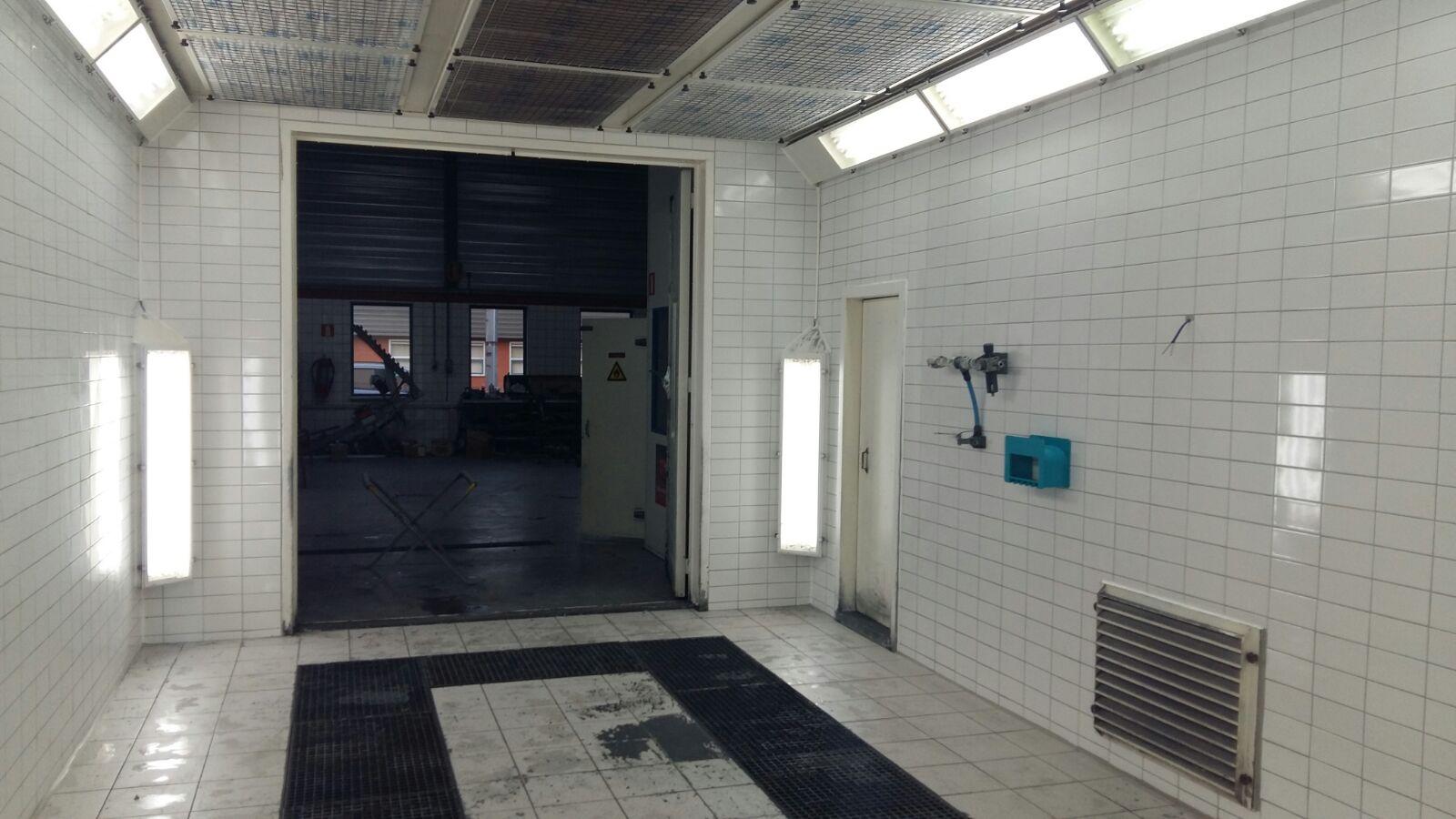 garage steneker spuiten lakken